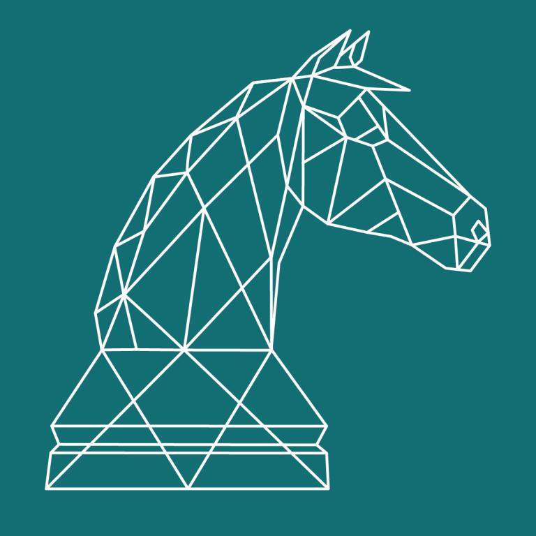 donderes paard vierkant